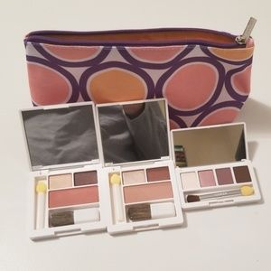 Clinique bag and 3 new eyeshadows
